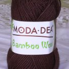 "Moda Dea Bamboo Wool ""Coffee"" Yarn ~ 1 Skein ~ $6"