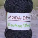 "Moda Dea Bamboo Wool ""Heather Grey"" Yarn ~ 1 Skein ~ $5"