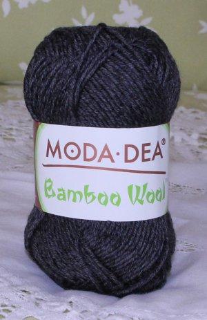 "Moda Dea Bamboo Wool ""Heather Grey"" Yarn ~ 1 Skein ~ $5"