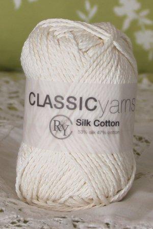 "Rowan Silk Cotton ""Ice"" Yarn ~ 1 Skein ~ $6"