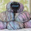 "$48 Lot--6 Skeins Tahki Cloud ""1 Rainbow"" Yarn + Free Gift!"