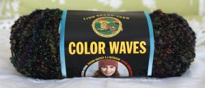 "Lion Brand Colorwaves ""Lava"" Yarn ~ 1 Skein ~ $5"