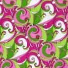 Pink Groovy Swirl
