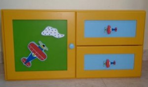 Aeroplane Cabinet for Boys