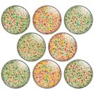 Color Vision Test 1.25 inch Pinback Button Badge Set