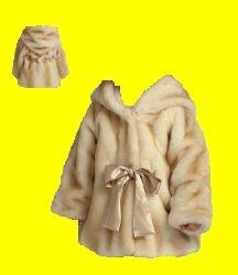 Girl's Faux Mink