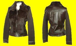 Fur Sweater Jacket