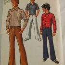 """Shirt, Bellbottom"" Simplicity 8902 Sz 12"