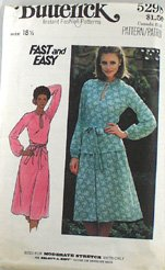 """Knit Dress"" Butterick 5298 Sz 18-1/2"
