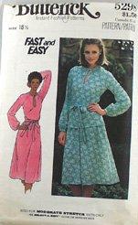 """Vintage """"Knit Dress"""" Pattern Butterick 5298 PATTERN 80s Sz 18-1/2"""
