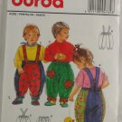 "Vintage ""Child's Pants"" Pattern Burda 4762 Sz 6M-4"