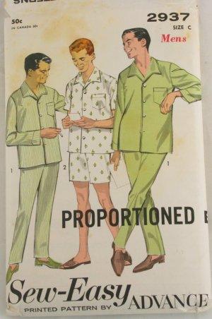 Advance Mens Pajamas 2937  Sz 42-44