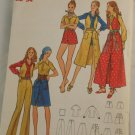 "Vintage ""Hot Pants & Skirt"" Pattern Butterick 6263 PATTERN Sz 12"