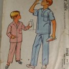 1959 Boys Pajamas-McCalls 5052-VINTAGE PATTERN Sz 6