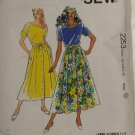 1993 Top & Skirt-KwikSew-VINTAGE PATTERN XS-XL