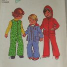 1976 Toddler Coverall -Simplicity 7774 Sz 1