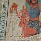 1976 Junior Petite Dress -McCalls 5089-VINTAGE PATTERN Sz 9