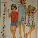 1965 Girls Dress,Outfit-Simplicity 6035-VINTAGE PATTERN Sz 8