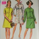 Misses Shirt Dress-Simplicity 8084 Sz12