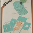 Baby Travel Mat/Tote/Seat-Simplicity 9926 VINTAGE PATTERN