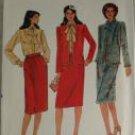 Vogue 7768-Misses Jacket,Skirt,Blouse-1970s Sz 12