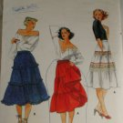 Misses Skirt  Pattern-Butterick 5671 Sz 26-1/2