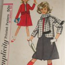 Girl's Skirt,Jacket,Scarf-Simplicity 5130SZ 12