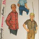 Boy's Shirt-Simplicity 1781 SZ 12