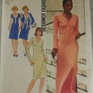 Misses Designer Dress & Cardigan 1975 VINTAGE PATTERN Simplicity 7131 Sz 12