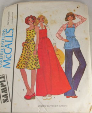 Amazon.com: McCall's Patterns M5643 Aprons, All Sizes: Arts