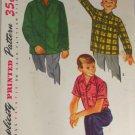 Boy's Shirt-Simplicity 4100-VINTAGE PATTERN SZ 14