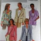Misses Jacket  Butterick B4138-VINTAGE PATTERN SZ 14,16,18