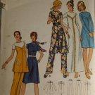 Misses Dress and Pants Butterick 6208-VINTAGE PATTERN SZ 16