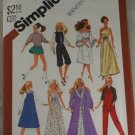 "Wardrobe for 11-1/2"" Doll VINTAGE PATTERN Simplicity 5637"