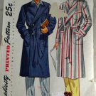 1950s Men's Robe Simplicity 2172-VINTAGE PATTERN SZ Medium