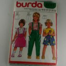 Child Skirt Pant and Short Burda 6011 VINTAGE PATTERN SZ 2,3,4,6,7,10