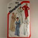Misses Shawl Collar or Hooded Robe -Simplicity 5814 SZ XL