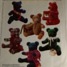 It's a Small World Teddy Bear Joanne Beretta McCall's 861-VINTAGE PATTERN SZ One