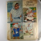 Little Vogue 2177 Toddler's Bibs and Bonnets VINTAGE PATTERN SZ one
