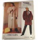 Vogue American Designer 1458 Ann Klein Misses Coat Pattern Sz 10
