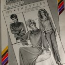 Stretch & Sew 5275 Ladies Snuggler Gown & Sweaters Pattern Sz S,M,L
