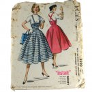 1956 Misses Jumper Skirt  McCall's 3590  PATTERN SZ  Waist 26 Hip 35