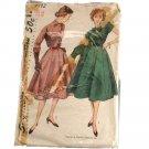 Simplicity 8492 1950s Misses Rockabilly Dress & Jacket Sz 16, Bust 34