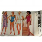 Butterick 6462 Misses Coverup & Swimsuit Sewing PATTERN Size 14