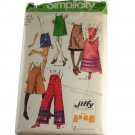 Simplicity 9516 Misses Jiffy Skirts and Pants  Sewing PATTERN Size 14