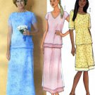 Misses Evening Top & A Line Skirt Sewing Pattern Butterick 3021  (14-16-18)