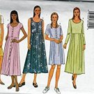 Butterick 3023 ©2001 Misses' Dress; Sizes 12-14-16