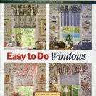 Butterick Pattern 6434 Waverly Window Valances & Shade