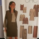 Simplicity Sewing Pattern 9327 Woman's Top Jacket Skirt Pants 14 16 18 20
