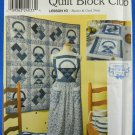 Simplicity Quilt Block Club 9253 ; #3 Basket & Card Trick